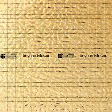 jy14 18 imitation gold foil glass mosaic rectangular mosaic