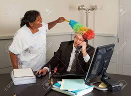 femme de m駭age bureau femme de ménage drôle nettoyage du bureau du gestionnaire y compris