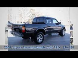 2001 to 2004 toyota tacoma for sale 2004 toyota tacoma cab trd road for sale in maryville