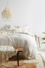 Duvet Vs Duvet Cover Relaxed Cotton Linen Duvet Cover Anthropologie