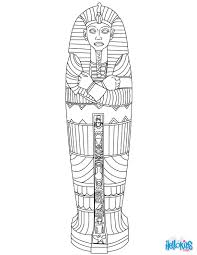 egyptian sarcophagus coloring page colouring for kids big kids