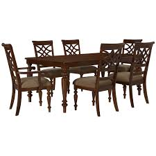 city furniture oxford mid tone rectangular dining room
