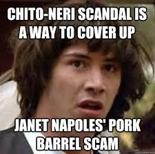 Janet Napoles Memes - chito neri scandal is a way to cover up janet napoles pork barrel