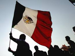 Mexixan Flag Anti Donald Trump Rally Waves Mexican Flags In La Breitbart