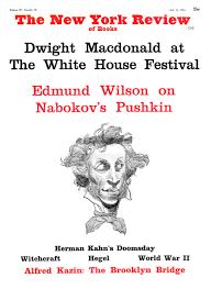 the strange case of pushkin and nabokov by edmund wilson the