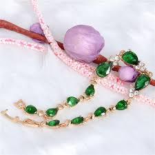 bracelet luxury crystal images Luxury crystal shining chain cubic zircon water drop bracelets jewelry jpg