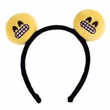 hair clip types 7 types emoji emoticon headband hairpin hair clip headwear
