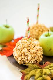 halloween candy apple sticks apple popcorn balls recipe