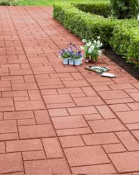 envirotile walkway made from recycled rubber tires things to do