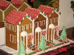 i want to make row house gingerbread houses this year christmas