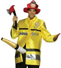 hilarious costumes fireman men s costume the extinguisher costume