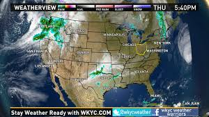 Las Vegas Weather Map by Weather Across The Nation On October 13 2016 Wkyc Com