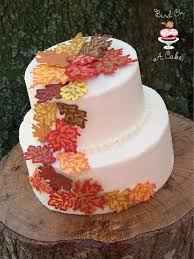 Fall Cake Decorations Seasonal Cakes Ideas For A Fall Wedding 5 Fashion U0026 Trend