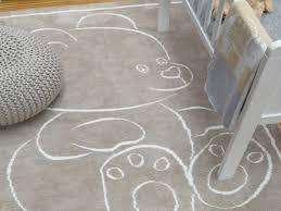 tapis ourson chambre bébé chambre tapis chambre enfant frais tapis moderne en coton beige