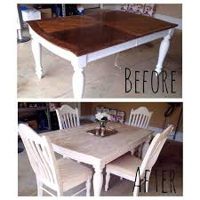 kitchen table refinishing ideas painting staining a kitchen table hometalk