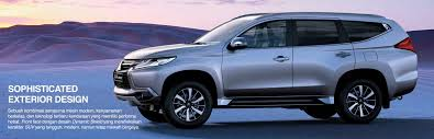 mitsubishi terbaru 2017 new mitsubishi pajero sport suv launched in indonesia u2013 new 2 4l