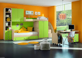 pink kids girls bedroom with cabin home furniture