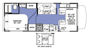 class c floor plans 100 sunseeker motorhome floor plans used 2002 forest river