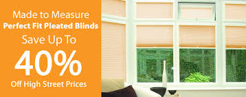 Pleated Blinds Perfect Fit Pleated Blinds Soeasy Blinds