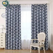 Geometric Curtain Fabric Uk Decorative Room Modern Geometric Curtain For Living Room Bedroom