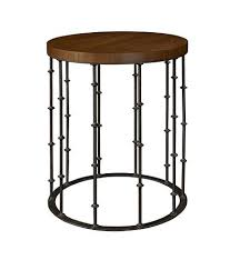 hickory chair side tables astor side table with wood top from the hartwood collection by