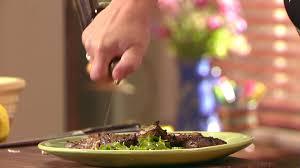 lamb chops with arugula food network