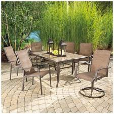 tile patio table set customize your patio set with as much or as little seating as you