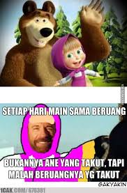 Icak Meme - just masha and the bear 1cak for fun only