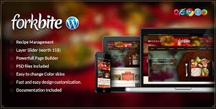 themes wordpress restaurant free forkbite food recipe and restaurant theme free wordpress theme