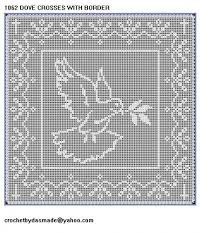 imagenes religiosas a crochet pinterest filet crochet patterns gentile richiesta gli schemi