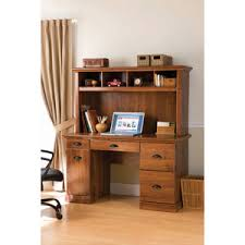 better homes and gardens computer workstation desk and hutch oak