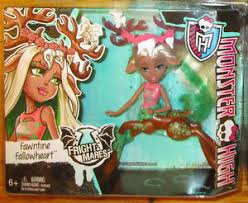monster fright mares fawntine fallowheart doll wave 2 ebay