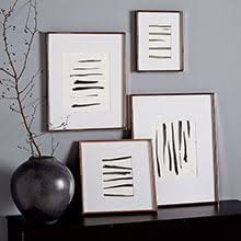 modern wall art and mirrors west elm