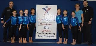 marcov sharp gymnastics wins state championships news milford