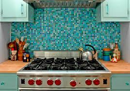 Five Steps To Installing A Gorgeous Mosaic Tile Backsplash - Blue tile backsplash kitchen