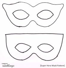 mask template for kids stay go free reindeer mask printable