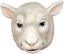 Halloween Sheep Costume Amazon Forum Novelties Child U0027s Plastic Animal Mask Sheep
