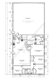 barndominium floor plans pole barn house and metal morton building