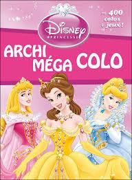 Disney Princesses  Livres de coloriages  Princesses  Walt Disney
