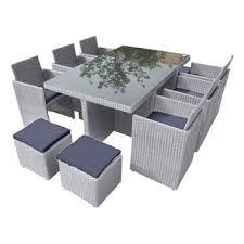 canapé jardin résine salon jardin table de jardin resine maison email