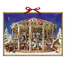 christmas carousel christmas carousel advent calendar fortnum