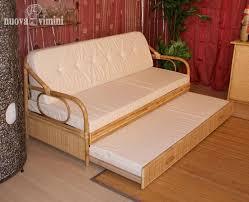 divanetto vimini divano letto giunco naturale nuova vimini