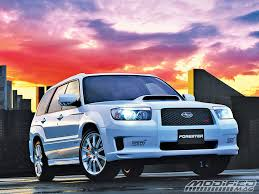 subaru forester old model building your own subaru forester sti modified magazine
