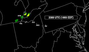 Weather Map Toledo Ohio by The Ohio Fireworks Derecho
