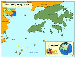 Macau China Map by Hong Kong Worldmap Org