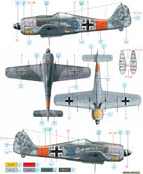 focke wulf fw 190a 8 jg 300 dahl color profile and paint guide
