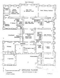 chateau de balleroy ground floor plan architectural plans and