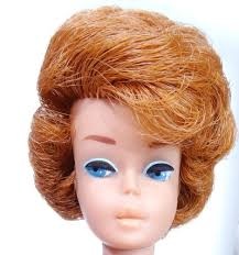 bubble cut hairstyle htf vintage redhead titian bubble cut barbie doll w american