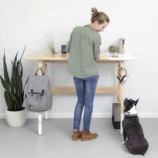 an upright design the artifox standing desk 01 design milk