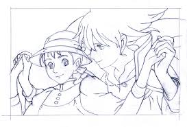 anime coloring pages u2013 ghibli studio colotring pages